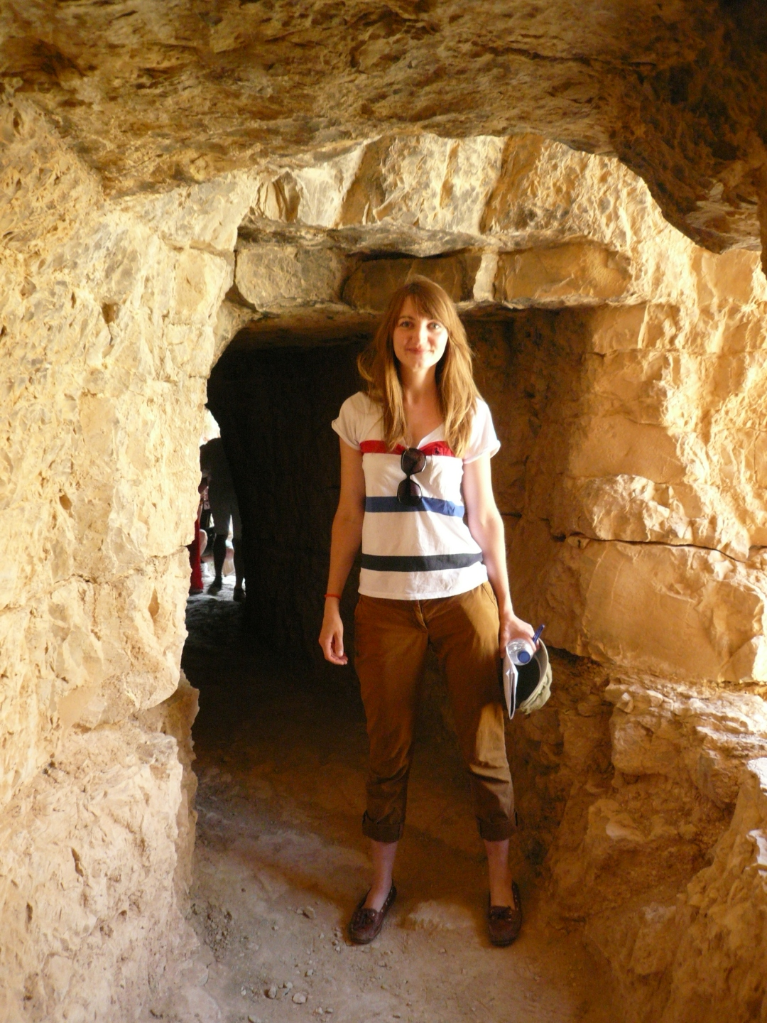 Inside the Albarracin-Cella aqueduct
