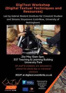 Digitext workshop poster