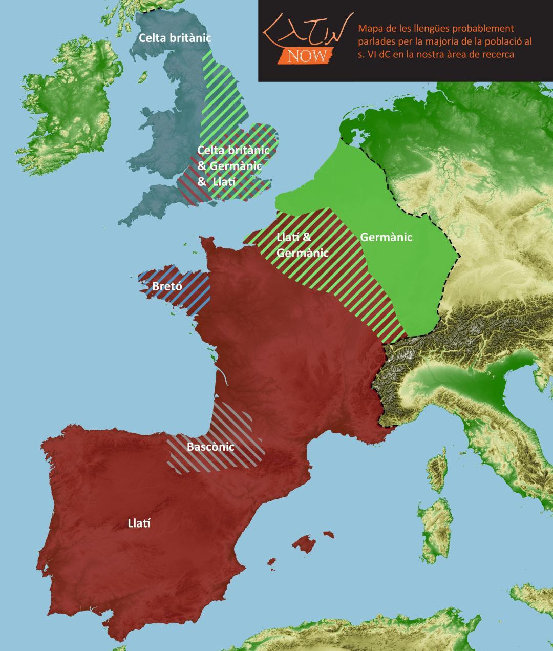 Post-Roman - Catalan